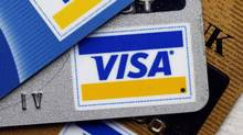 The Visa share price hit a record high on July 16, bringing its year-to-date gain to more than 26 per cent. (CHIP EAST/REUTERS)