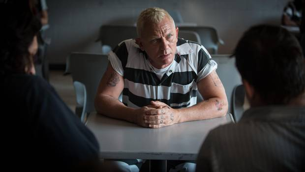 Daniel Craig in Logan Lucky.