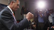 Speaker of the House John Boehner said he wouldn't get in the way of the Senate proposals. (KEVIN LAMARQUE/REUTERS)