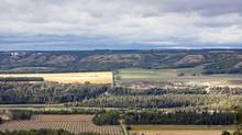 August 24, 2012 - The Peace River Valley. Dawson Creek, British Columbia. (SPS/Polaris)