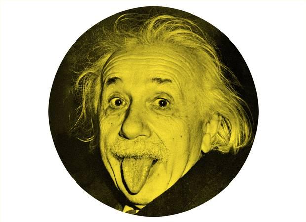 Albert Einstein, seen on his 72nd birthday on March 14, 1951.