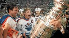 Edmonton Oilers: Hayley Wickenheiser's pick for Canada's true national team - she asks: 'How could the Oilers not be the most iconic sports team when they have produced the most iconic players of the game? Just to name a few: Coffey, Anderson, Lowe, Fuhr, Messier and, of course, Gretzky. Most of their names are instantly recognizable whether or not you are a hockey fan.' (Bill Grimshaw/The Canadian Press)