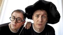 "Jefferson Turner (left) and Daniel Clarkson star in ""Potted Potter."" (Moe Doiron/The Globe and Mail)"