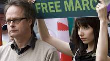 Marc Emery and his wife, Jodie, are pictured in Vancouver on May 10, 2010. (JONATHAN HAYWARD/THE CANADIAN PRESS)
