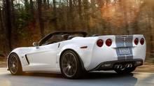 The 2013 Chevrolet Corvette 427 convertible features more than 500 horsepower under the hood. (General Motors)