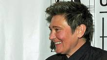 kd lang at the 41st Annual Songwriters Hall of Fame Ceremony in New York, June 17, 2010. (Larry Busacca/Getty Images)