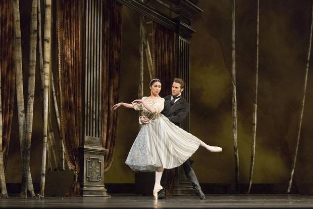 National Ballet Canada McGee Maddox and Xiao Nan Yu in Onegin. Photo by Aleksandar Antonijevic.