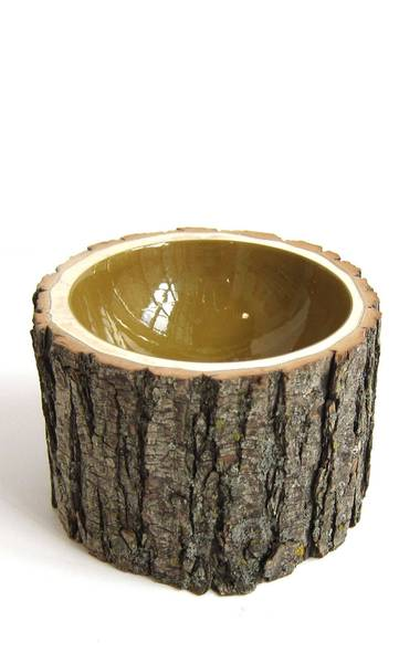 Ochre Log Bowl No. 5 by Loyal Loot, $160 at Provide (www.providehome.com). (Handout)