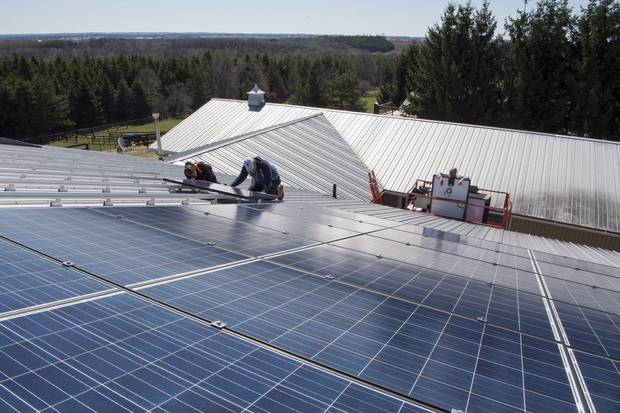 Many Ontario renewable-energy companes, such as Osborne Solar Solution, are finding they can get by without subsidies, thanks to lowered costs.