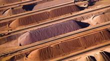 Stockpiles of iron ore at a Rio Tinto ship loading terminal in Australia. Rio Tinto and BHP Billiton offer contracts on even shorter pricing mechanisms than Vale. (Reuters/Rio Tinto/Reuters/Rio Tinto)