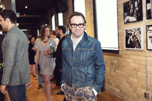Nicholas Mellamphy attends an opening in 2014. Mellamphy is one of Canada's most highly regarded fashion insiders.