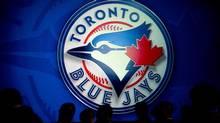 The Toronto Blue Jays' logo is seen in Toronto on Friday, Nov. 18, 2011. (Nathan Denette/THE CANADIAN PRESS)