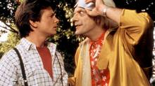 Michael J. Fox, left, and Christopher Lloyd star in Back to the Future. (THE CANADIAN PRESS)