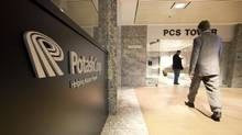Potash Corp's head office in Saskatoon is pictured in this file photo from Nov. 3, 2010. (DAVID STOBBE/REUTERS)