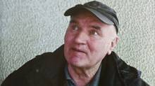 Bosnian Serb army commander Ratko Mladic is seen in a photo taken after his arrest on May 26, 2011, and provided by the Politika Newspaper. (Politika Newspaper/AP)