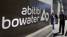 AbitibiBowater head offices are seen in Montreal Thursday, April 16, 2009. (Ryan Remiorz/The CANADIAN PRESS)