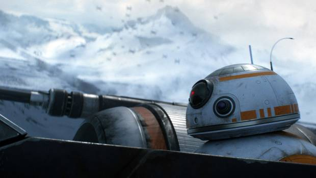 BB-8 is a new droid introduced in Star Wars: The Force Awakens