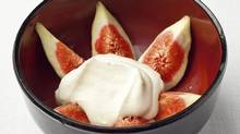 From The Family Meal: Home Cooking with Ferran Adria (Phaidon Press, 2011) Figs with cream and kirsch