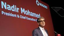 Rogers CEO Nadir Mohamed is seen in this file photo. (Tim Fraser For The Globe and Mail)