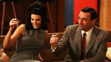 This publicity photo provided by AMC shows Jon Hamm as Don Draper in a scene of Mad Men, Season 6. Series creator Matthew Weiner says he plans one more season for the 1960s drama. (Michael Yarish/AP)