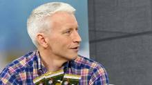 Anderson Cooper during a taping of his daytime show in New York, October 17, 2011. (Neilson Barnard/Neilson Barnard / Getty Images for Anderson)