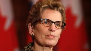Wynne to co-operate in forming of gas plant committee