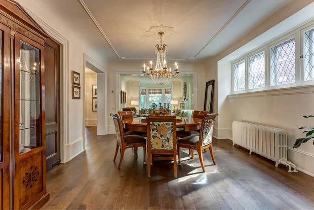 The front rooms were reproportioned to create a formal foyer and grand centre hall.