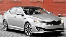 2011 Kia Optima Turbo (Kia)