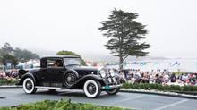 Torontonian Brent Merrill's 1931 Cadillac 452A Fleetwood Coupe at Pebble Beach in 2013. (Kimball Studios/Pebble Beach Concours d'Elegance)