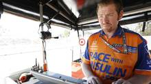 IndyCar race engineer Brad Goldberg in Long Beach, California (2013) (Michael Levitt/LAT Photo/Courtesy of Chip Ganassi Racing)