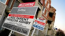 Montreal housing for sale. (Christinne Muschi/Christinne Muschi)