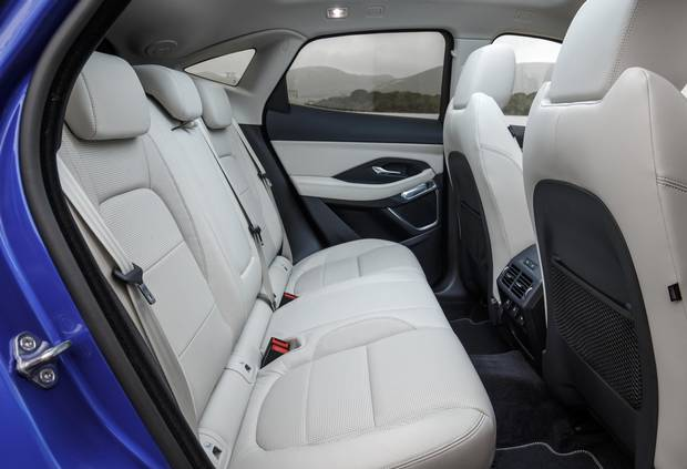 The rear seats are as comfortable as the front.