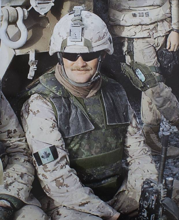 Sgt. Ron Anderson served for two decades in the army. He completed seven overseas tours, including two tours in Afghanistan.