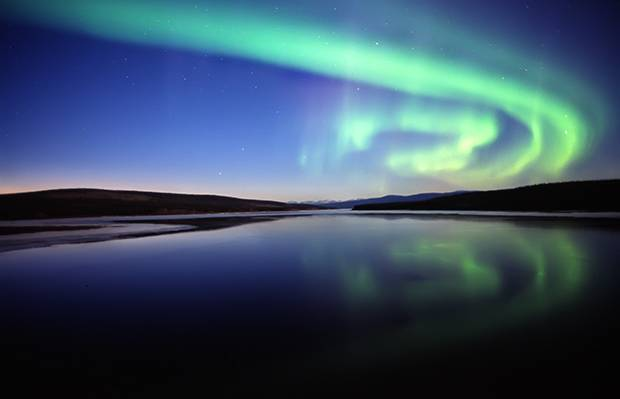 Aurora 360 gives travellers a birds-eye view of the Northern Lights.
