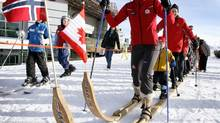 Former Canadian Olympic cross-country skiing gold medalist Beckie (file photo) (Jeff McIntosh/CP)