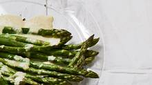 Roasted asparagus with horseradish cream (Donna Griffith for The Globe and Mail/Donna Griffith for The Globe and Mail)