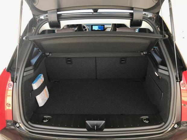 There's not much space in the trunk – just 260 L, but 1,099 L if you fold down the rear seats.