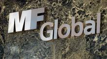 An MF Global sign is seen in the office building in New York. (Mario Tama/Mario Tama/Getty Images)