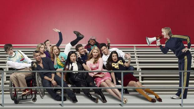 Glee became an instant hit when it debuted in 2009 and made celebrities of Cory Monteith and the rest of the relatively unknown cast over the past four seasons. (Patrick Ecclesine/FOX)