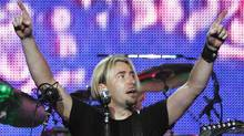Chad Kroeger performs with Nickelback in Vancouver in June 2010. (Jeff Vinnick/The Globe and Mail)