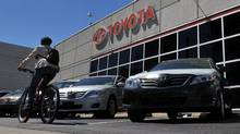 Any new vehicle shortages for Toyota would come in the most important part of the year for auto makers. (Sarah Dea/For The Globe and Mail)