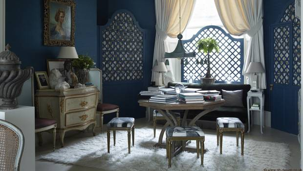 British Interior Design british interior designer nicky haslam's eye is as fresh as ever