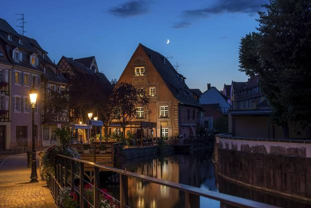 The TGV high-speed train can get passengers from Paris to the centre of Colmar in three hours.