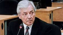 Gilles Vezina testifies before the Charbonneau Commission Nov. 12, 2012 in Montreal. (Paul Chiasson/THE CANADIAN PRESS)
