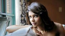 Bollywood star Priyanka Chopra is photographed at the Intercontinental Hotel during the Toronto International Film Festival in Toronto, Sept. 18, 2009. (Kevin Van Paassen/Kevin Van Paassen / THE GLOBE AND MAIL)