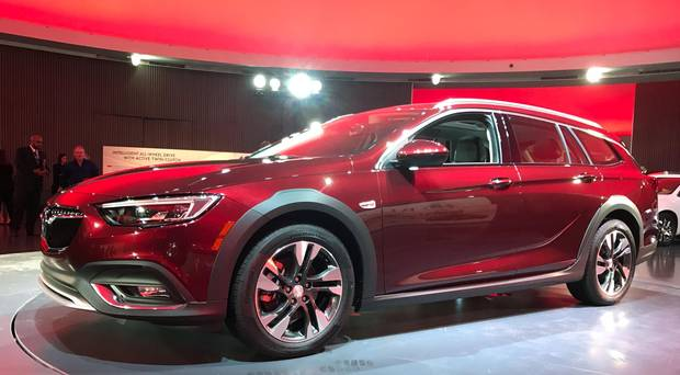 A new Buick model called the TourX, aimed at Volvo and Subaru's wagons, won't be available in Canada.