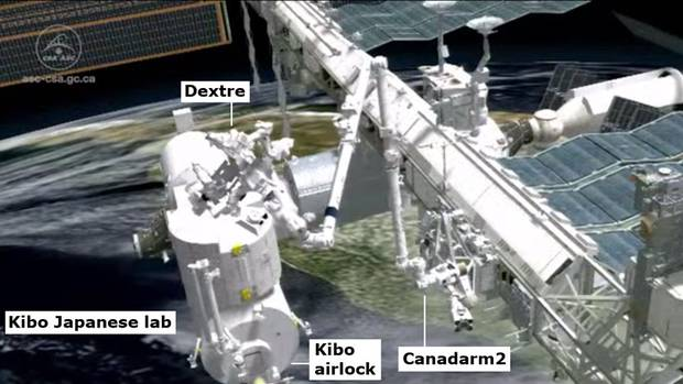 Canadarm2 becomes first robot to repair itself in space