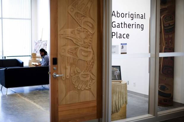 The Aboriginal Gathering Place on the new Emily Carr University of Art and Design campus.