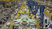Workers assemble the F-35 Joint Strike Fighter in Fort Worth, Tex. One of Lockheed Martin's selling points for the F-35 is that the fighter will be easier to maintain and upgrade later in its life cycle. (Lockheed Martin)