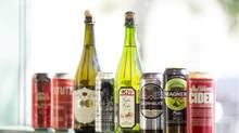 The rise of hard ciders means there are plenty of options on the market for those looking for an alternative to beer. (Michelle Siu/The Globe and Mail)